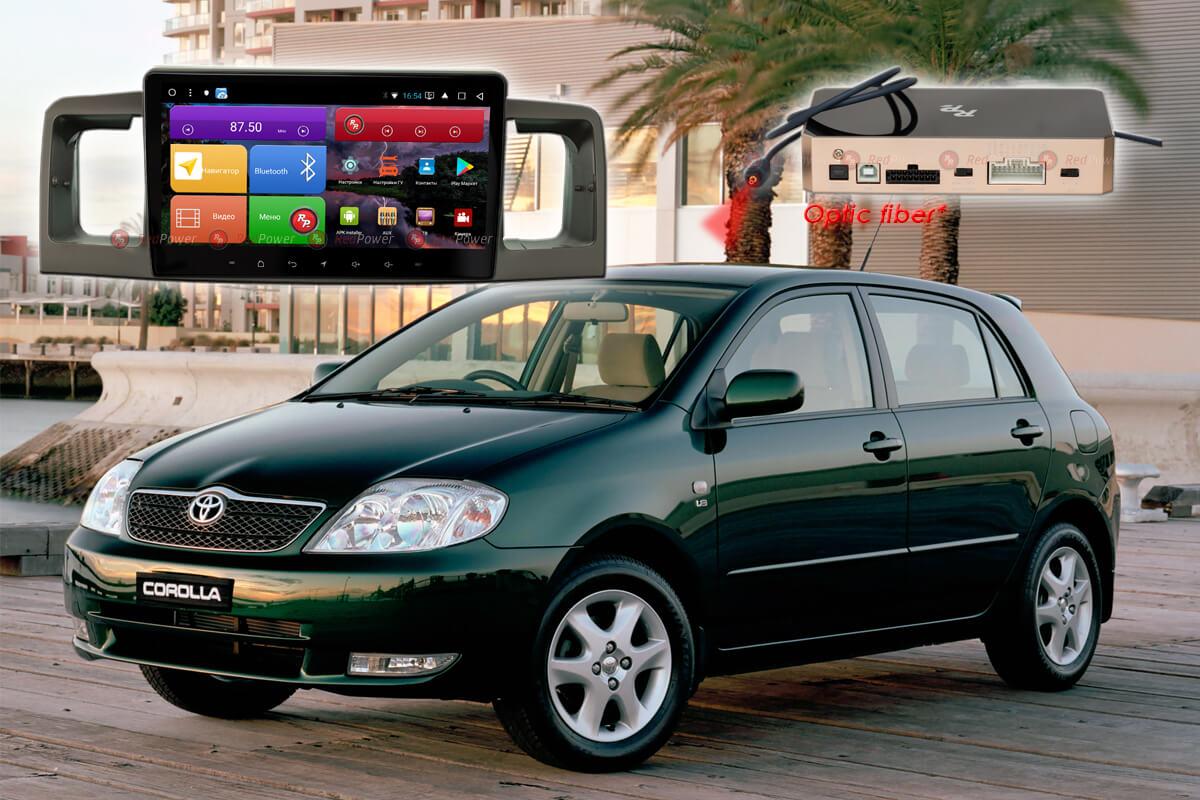 Автомагнитола для Toyota Corolla RedPower K 51070 R IPS DSP ANDROID 8+ (+ Камера заднего вида в подарок!)