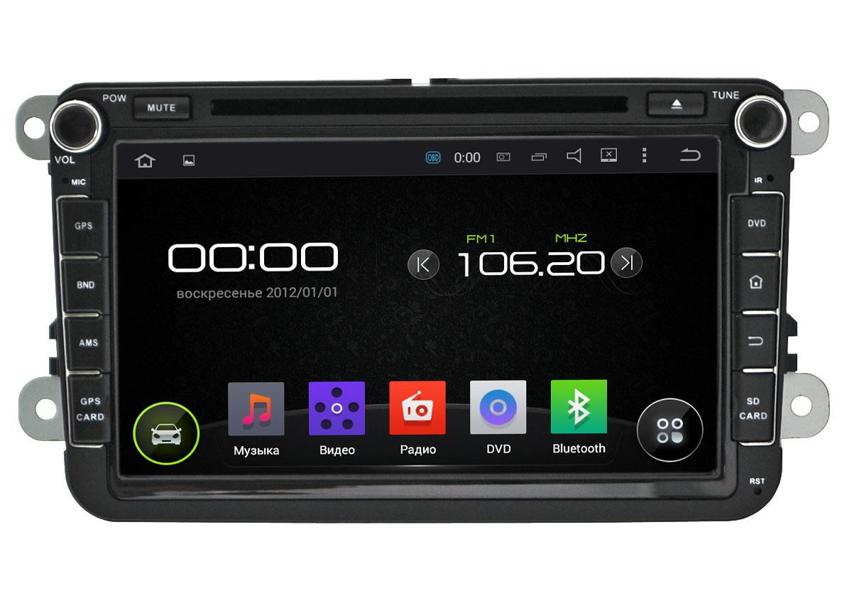 Штатная магнитола Incar AHR-8684 Skoda, SEAT на Android 4.4.4 штатное головное устройство incar ahr 6181 mitsubishi outlander 2008 2013 на android 4 4 4