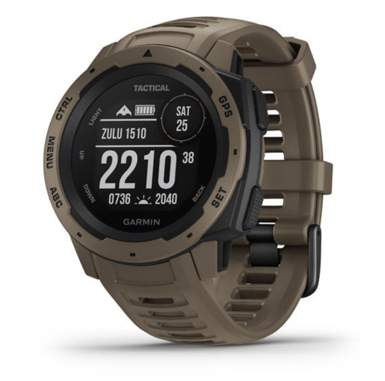 Прочные GPS-часы Garmin Instinct Tactical коричневый цены gps навигаторы garmin