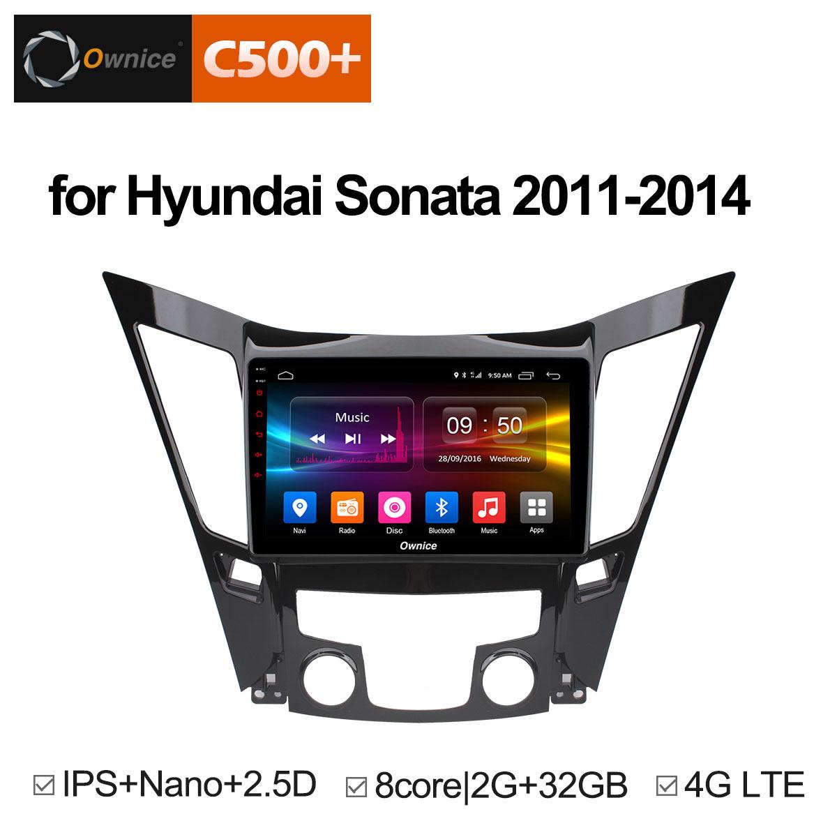 Штатная магнитола CARMEDIA OL-9716-8 (C500+) Hyundai SONATA YF 2010-2013