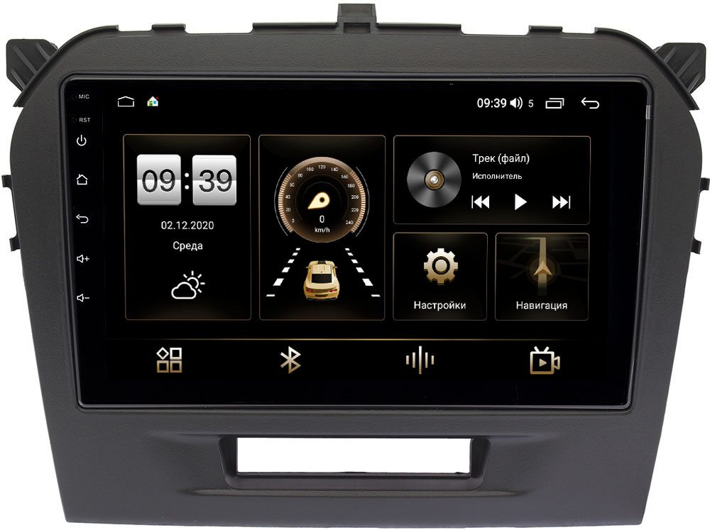 Штатная магнитола Suzuki Vitara IV 2014-2021 LeTrun 3792-9103 на Android 10 (4/64, DSP, QLed) С оптическим выходом (+ Камера заднего вида в подарок!)