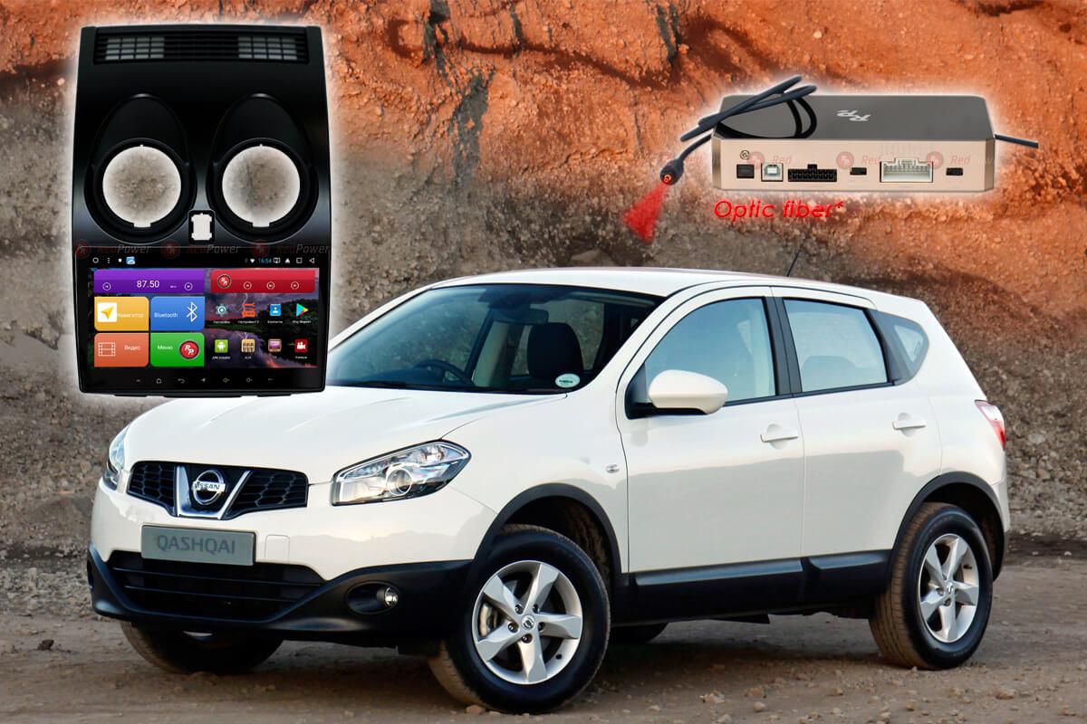 Автомагнитола для Nissan Qashqai J10 RedPower K 51030 R IPS DSP ANDROID 8+ (+ Камера заднего вида в подарок!)