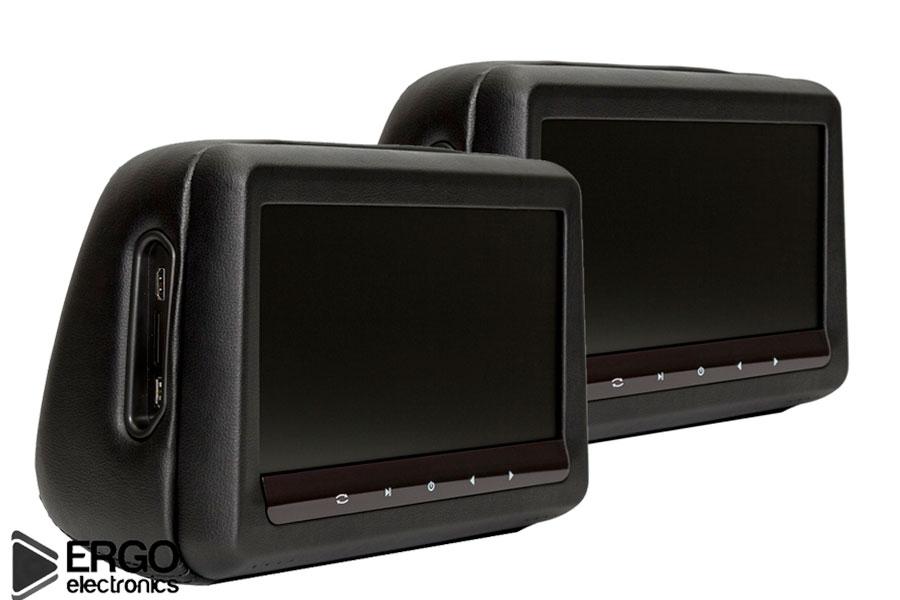 Автомобильный монитор Ergo ER10HD (+ Двухканальные наушники в подарок!)