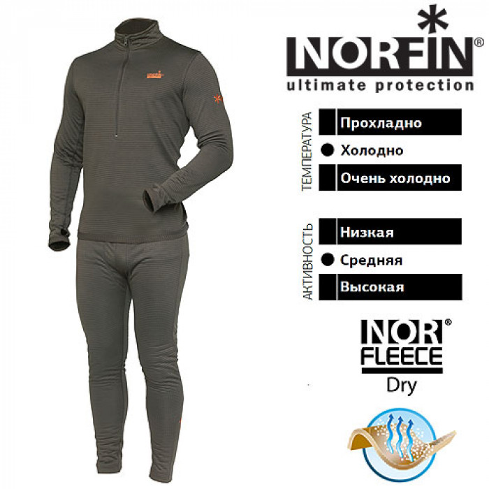 Термобелье Norfin NORD AIR 03 р.L костюм norfin nord air