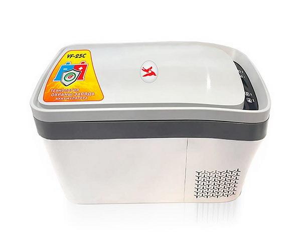 Автохолодильник компрессорный Vector Frost VF-25c (+ Три аккумулятора холода в подарок!)