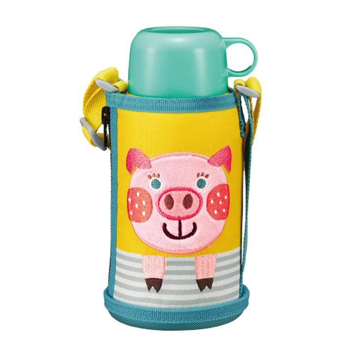 Термос детский Tiger MBR-T06G Pig 0,6 л (свинка) цена 2017