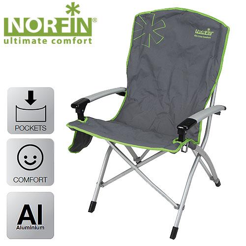 Кресло складное Norfin ULVILA NF алюминиевое norfin ulvila nf