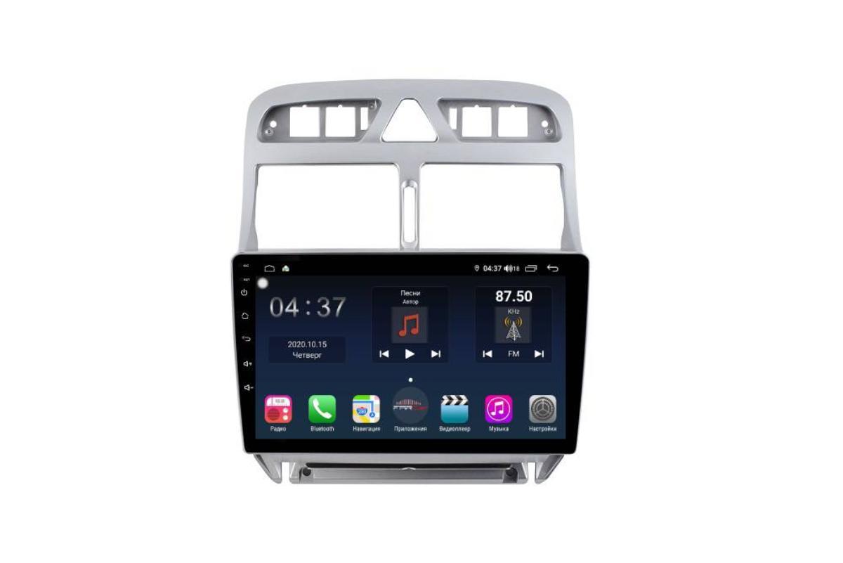 Штатная магнитола FarCar s400 для Peugeot 307 на Android (TG017R) (+ Камера заднего вида в подарок!)