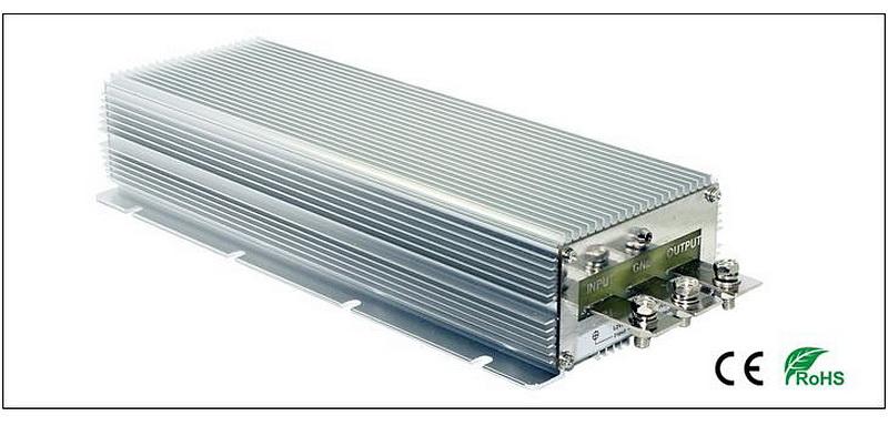 Преобразователь постоянного тока в постоянный Wengao WG-12S2450(12>24В, 50А) (+ Салфетки из микрофибры подарок)