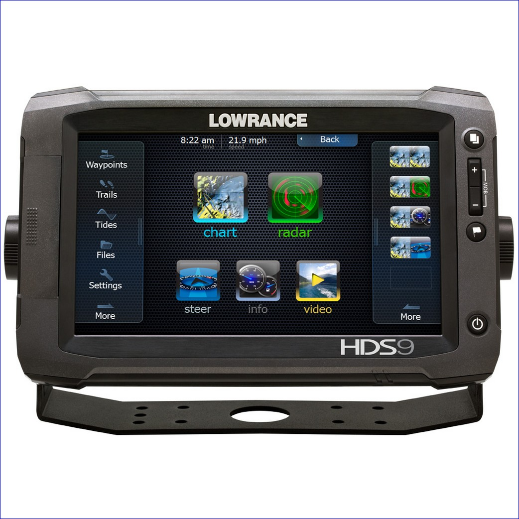 Lowrance HDS-9 Gen3 ROW with StructureScan + HST-WSBL (000-11800-002 - 9)