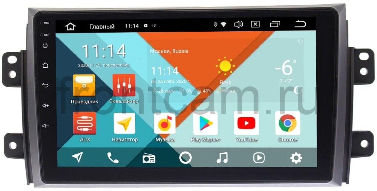 Штатная магнитола Suzuki SX4 I 2006-2014 Wide Media KS9035QM-2/32 DSP CarPlay 4G-SIM на Android 10 (+ Камера заднего вида в подарок!)