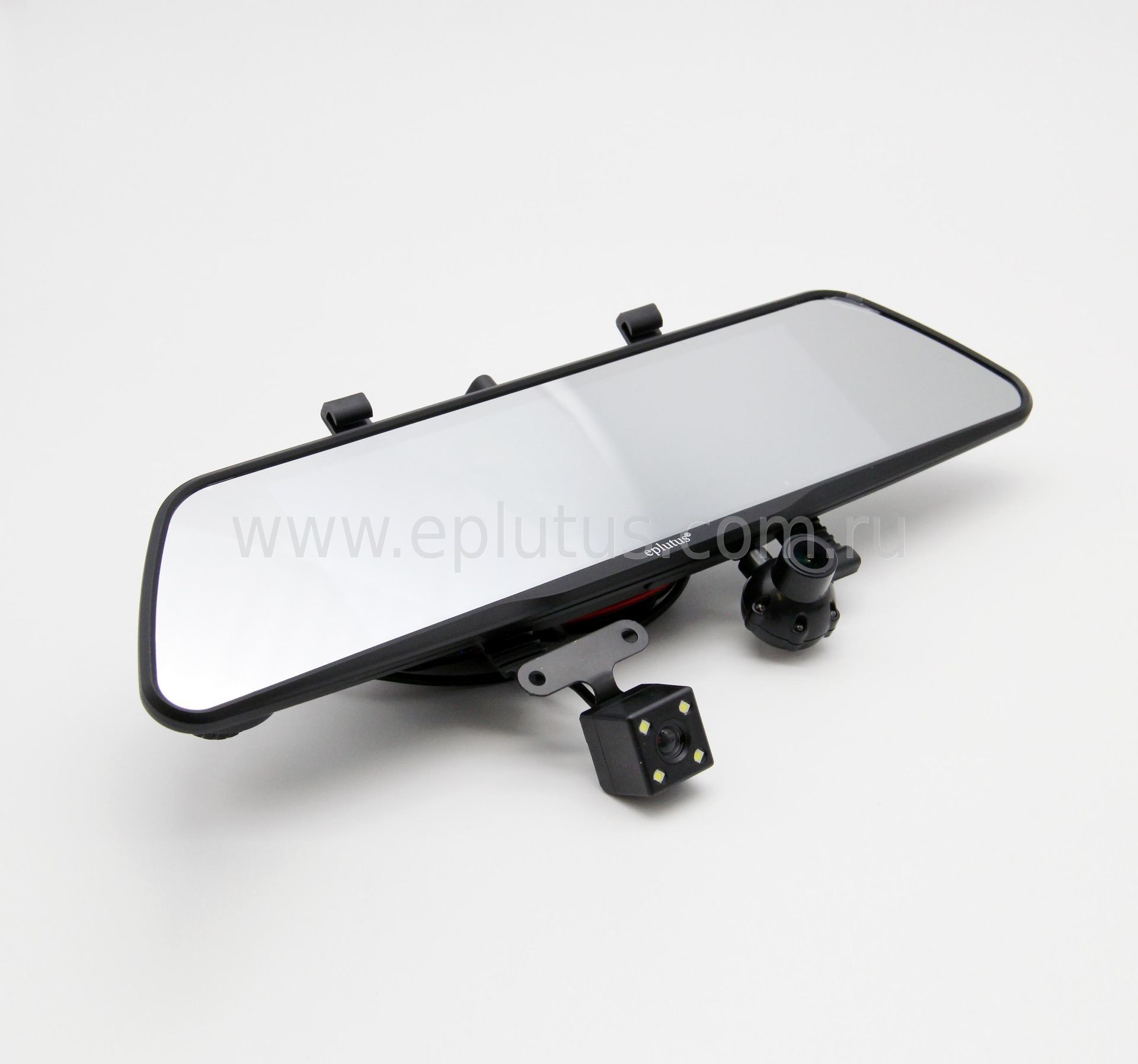 Автомобильный видеорегистратор с Android Navitel и 3-мя камерами 8 Eplutus D83