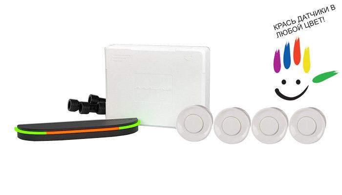 Парктроник модель AAALine SLED-14 White цена