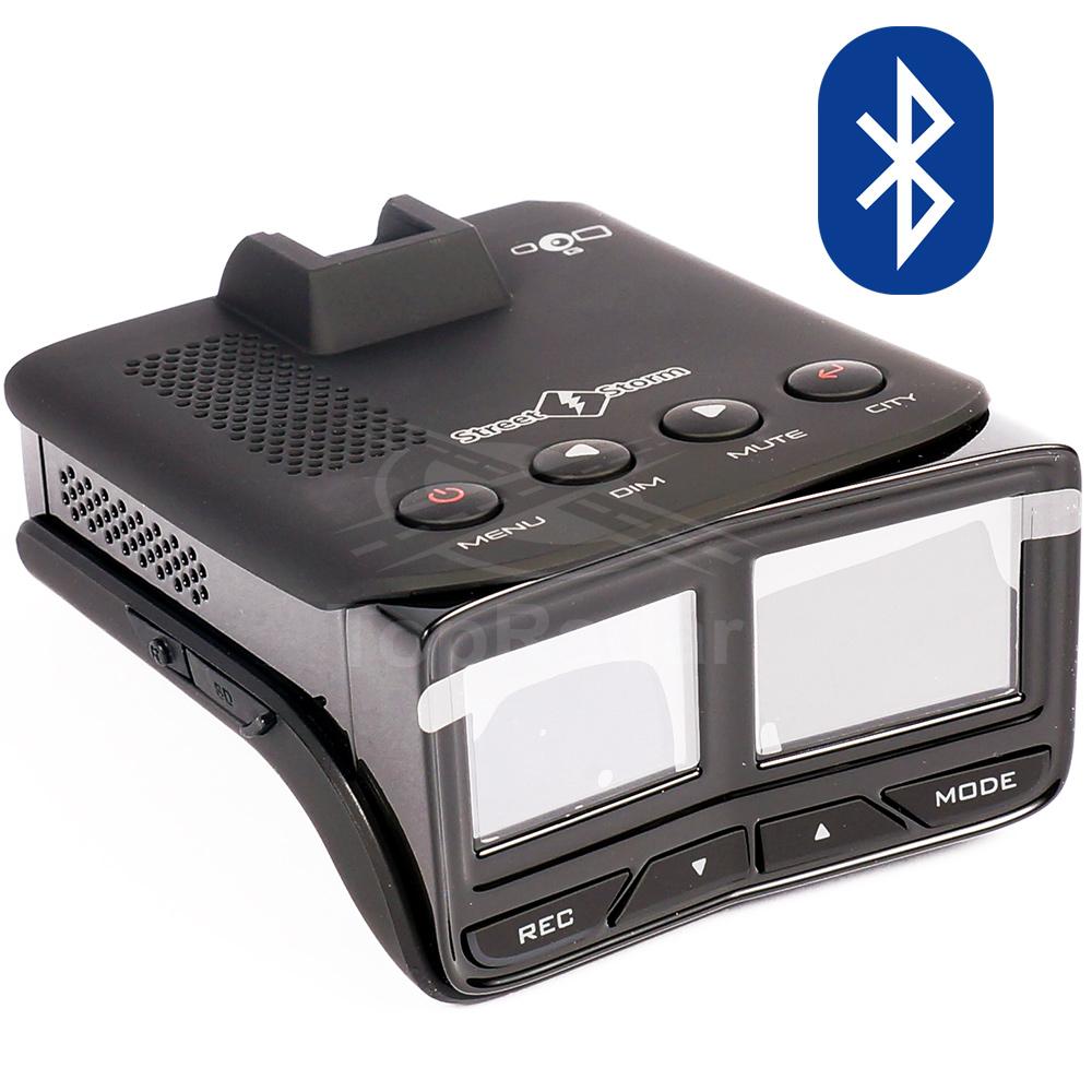 Видеорегистратор с радар-детектором Street Storm STR-9970BT