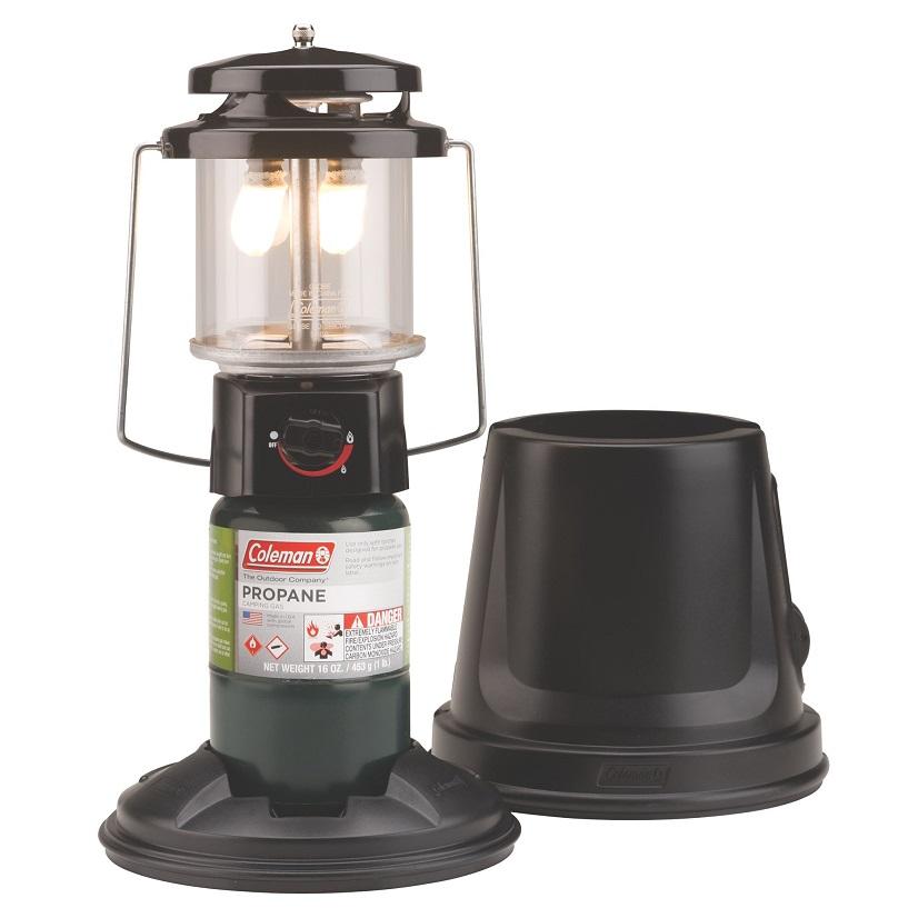 Лампа газовая пропановая Coleman QUICKPACK DELUXE (+ Поливные капельницы в подарок!)