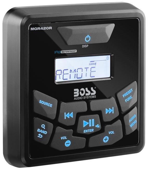 Фото - Пульт управления для магнитолы MGR450B BOSS AUDIO MGR420R футболка hugo hugo boss hugo hugo boss hu286emfdms0