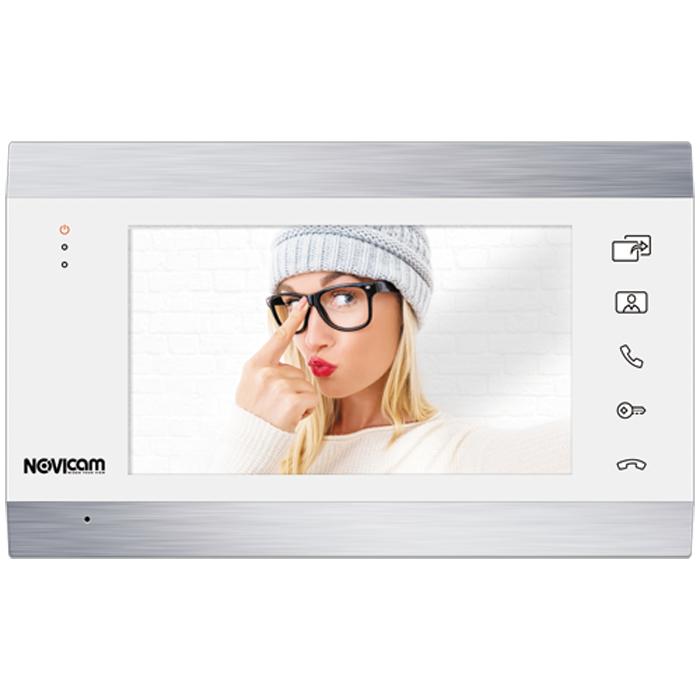Монитор HD домофона с записью Novicam MAGIC 7 WHITE (+ Автомобильные коврики для впитывания влаги в подарок!)