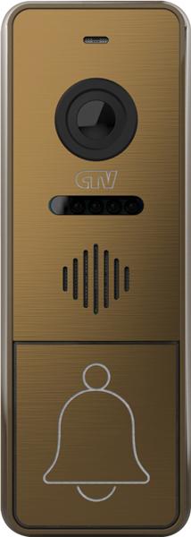Вызывная панель для видеодомофонов CTV-D4005 (бронза) (+ Салфетки из микрофибры в подарок)