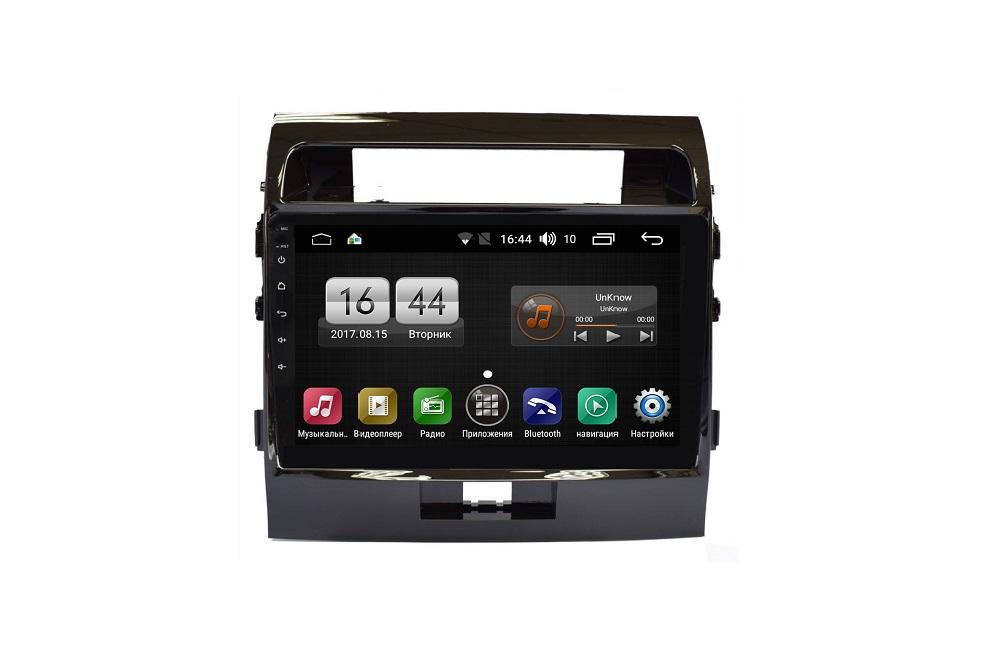 Штатная магнитола FarCar s185 для Toyota Land Cruiser 200 2012-2015 на Android (LY381R) (+ Камера заднего вида в подарок!)