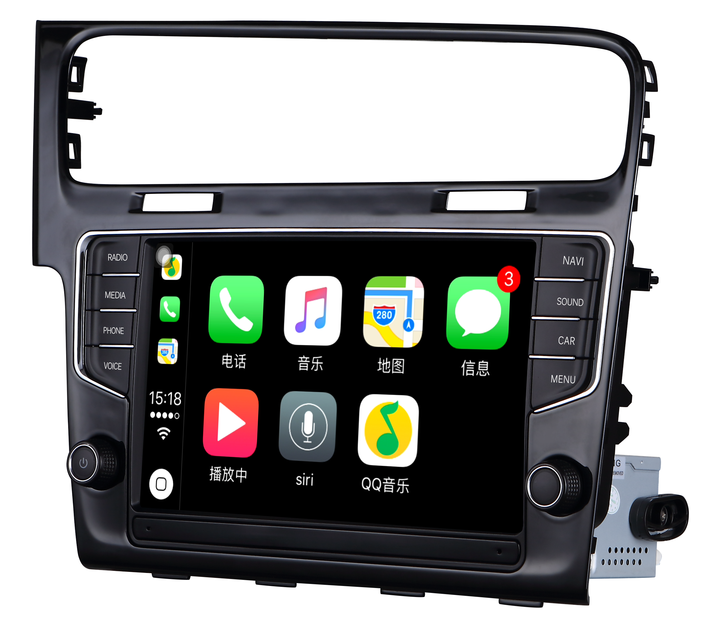 Штатная магнитола Carmedia MID-3912 Volkswagen GOLF 7 2013+ на Android 6.0 7 screen dvd player w radio gps bluetooth for volkswagen magotan passat jetta polo skoda