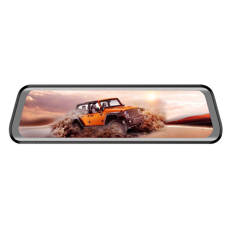 Зеркало-видеорегистратор Eplutus D40 на Android (+ Разветвитель в подарок!) цена и фото