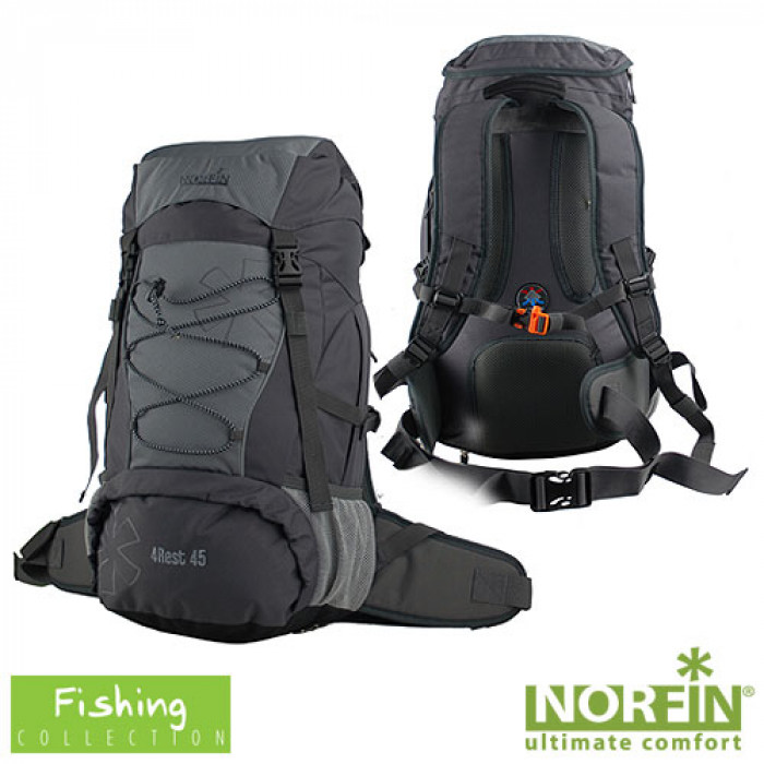 Рюкзак Norfin 4REST 45 NF рюкзак norfin newerest 80 ns 40209