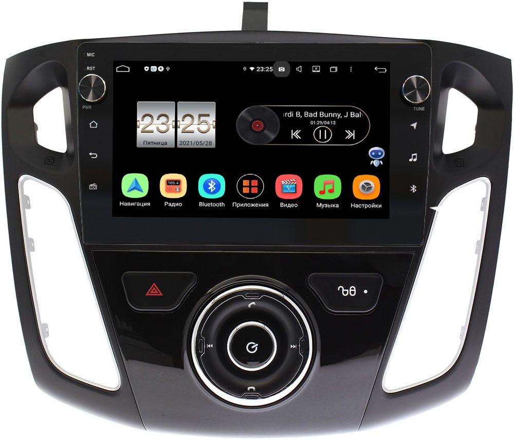 Штатная магнитола LeTrun BPX409-9246 для Ford Focus III 2011-2018 (тип 2) на Android 10 (4/32, DSP, IPS, с голосовым ассистентом, с крутилками) (+ Камера заднего вида в подарок!)