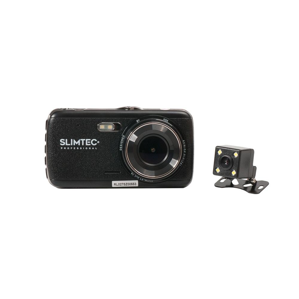 Фото - Видеорегистратор Slimtec Dual S2 (+ Антисептик-спрей для рук в подарок!) видеорегистратор зеркало slimtec dual m7