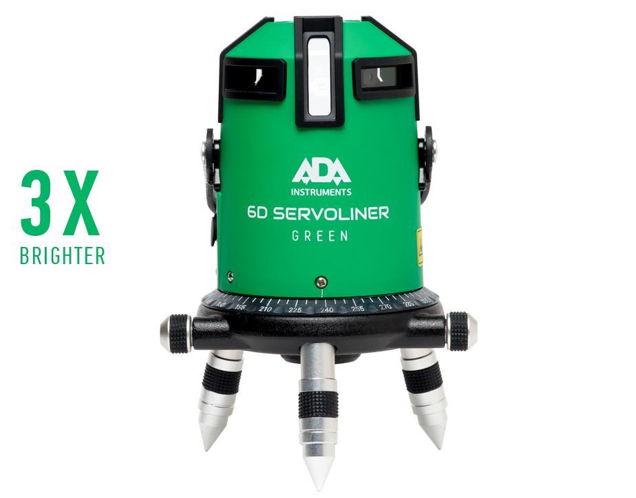 цена на Лазерный уровень ADA 6D SERVOLINER GREEN