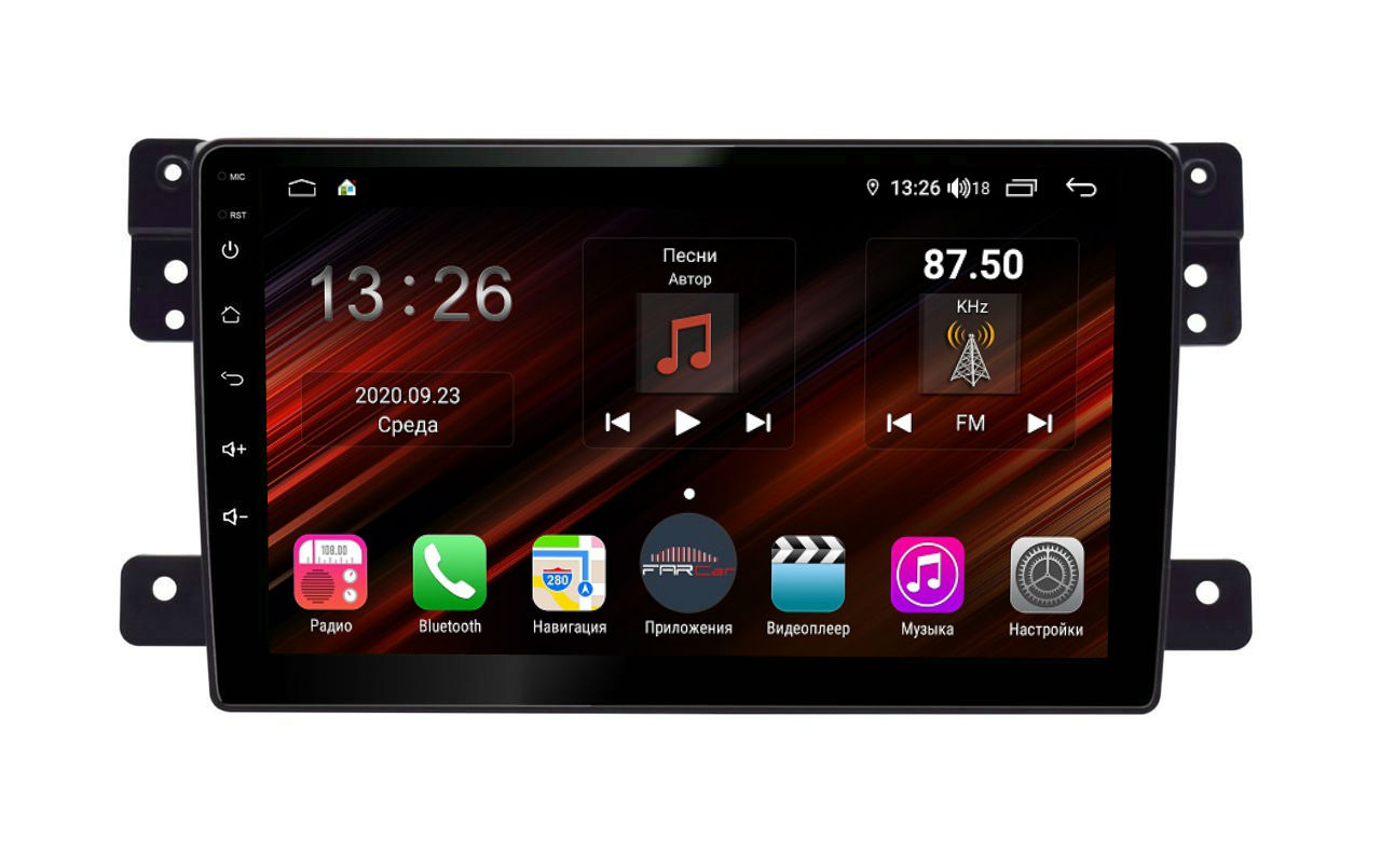 Штатная магнитола FarCar s400 Super HD для Suzuki Grand Vitara на Android (XH053R) (+ Камера заднего вида в подарок!)