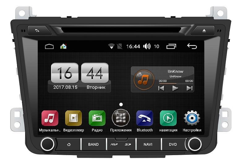 Штатная магнитола FarCar s170 для Hyundai Creta 2016+ на Android (L407) (+ Камера заднего вида в подарок!)
