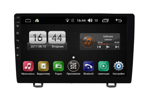 Штатная магнитола FarCar s195 для Honda CR-V 2006-2012 на Android (LX009R) (+ Камера заднего вида в подарок!)
