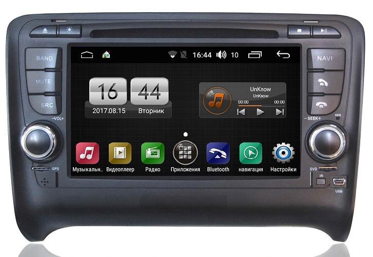 Штатная магнитола FarCar s170 для Audi TT на Android (L078) умный браслет gps сенсорный экран пульсомер защита от влаги израсходовано калорий педометры регистрация деятельности регистрация