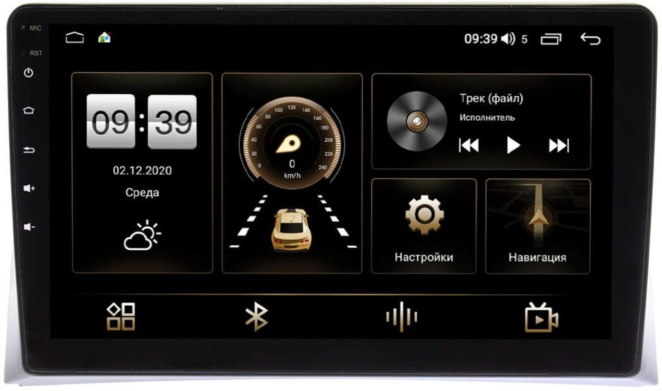 Штатная магнитола Volkswagen Multivan T5 2009-2015 LeTrun 4196-9-VW074N на Android 10 (6/128, DSP, QLed) С оптическим выходом (+ Камера заднего вида в подарок!)