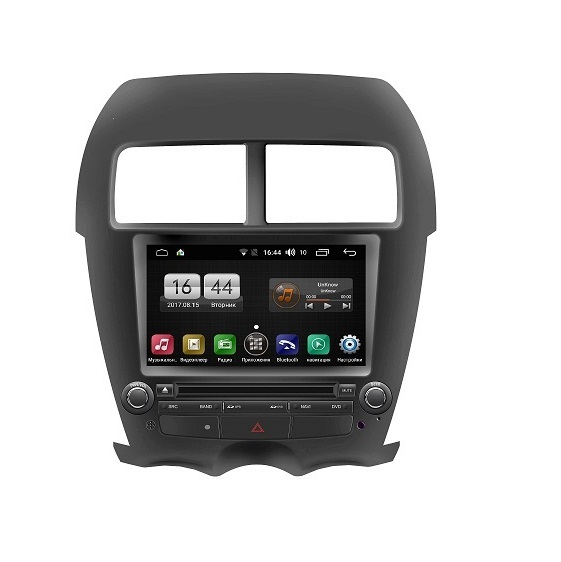 Штатная магнитола FarCar s170 для Mitsubishi Asx, Peugeot 4008, Citroen Aircross на Android (11oen Aircross на Android (L026) funrover 2 din android car dvd player multimedia for mitsubishi asx 2011 2015 peugeot 4008 citroen c4 aircross gps radio stereo