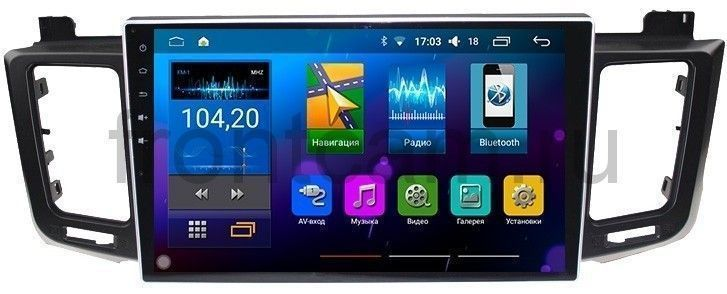 Штатная магнитола LeTrun 1531 для Toyota RAV4 2013+ Android 5.1.1 beling g760 7 inch touch screen car gps navigation win ce 6 0 tablet pc vehicle truck gps navigator fm hd 4gb 8gb mp3 mp4 player
