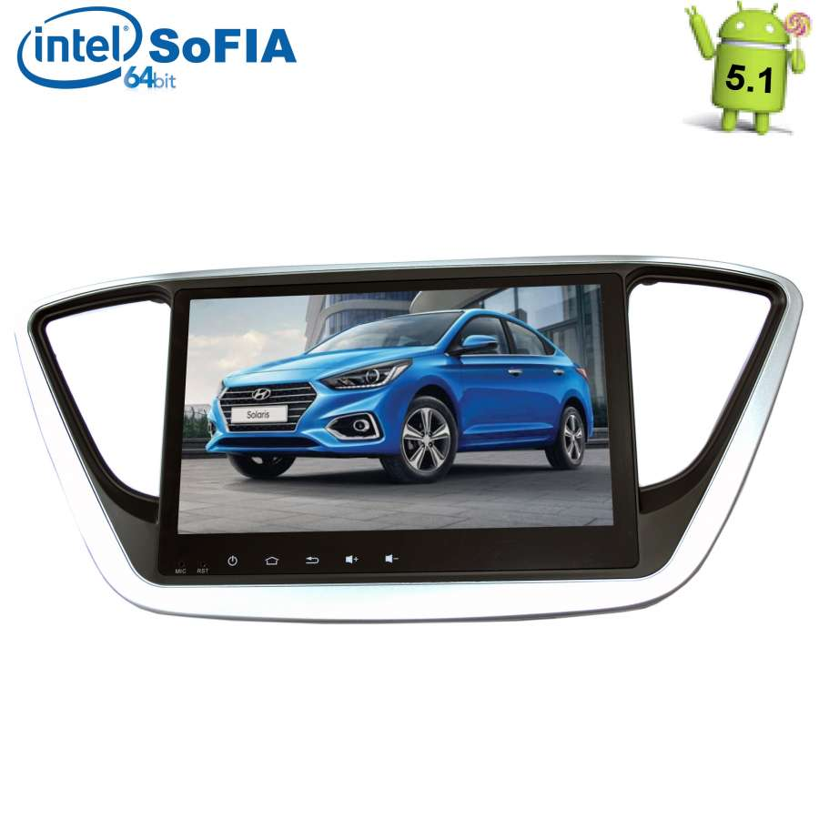 Штатная автомагнитола LeTrun 1840 для Hyundai Solaris II, Verna 2017+ на Android 5.1 xtool iobd2 diagnostic tool for bmw for iphone ipad iobd2 code scanner by bluetooth support obdii eobd protocol car diagnose