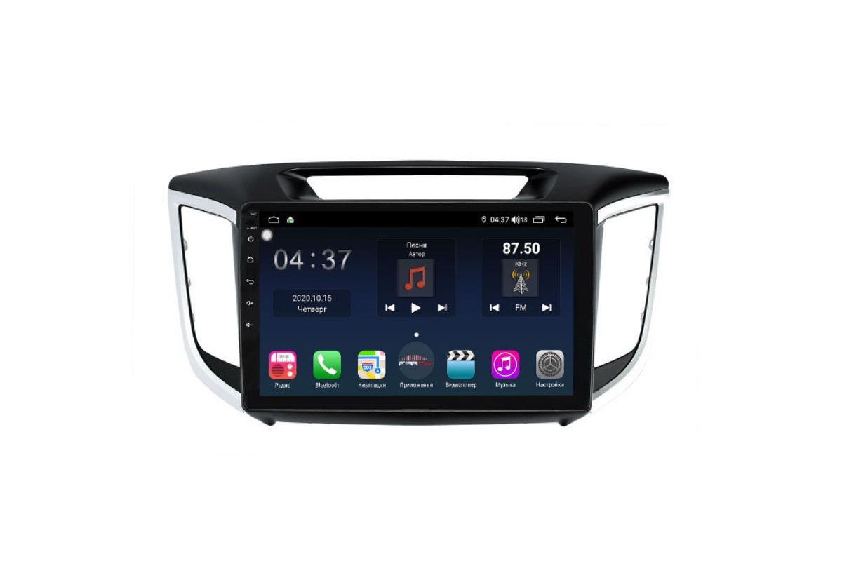 Штатная магнитола FarCar s400 для Hyundai Creta на Android (TG407R) (+ Камера заднего вида в подарок!)