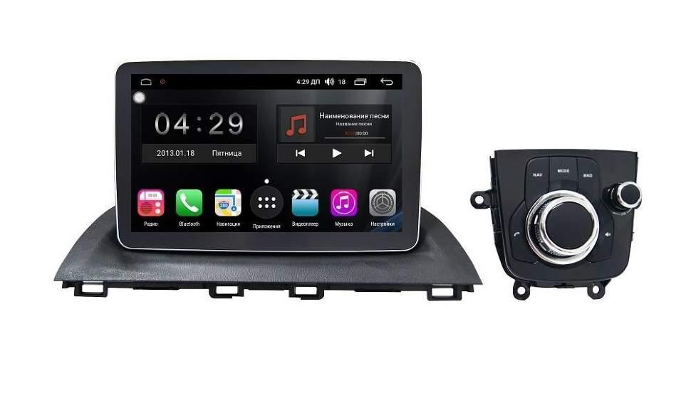 Штатная магнитола FarCar S300 4G RG403 Mazda 3 2013+ на Android (RG403) (+ Камера заднего вида в подарок!)
