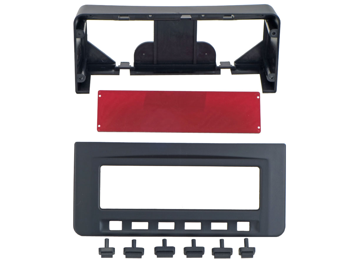 Переходная рамка Incar RMS-N23 для Mitsubishi L-200, Pajero Sport