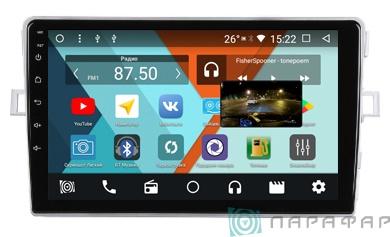 Штатная магнитола Parafar с IPS матрицей для Toyota Verso 2009-2011 на Android 8.1.0 (PF135K) штатная магнитола intro chr 2276 td toyota tundra sequoia