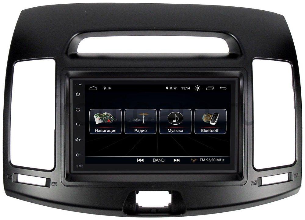 Штатная магнитола LeTrun 2380-RP-HDHD-30 для Hyundai Elantra IV (HD) (2006-2011) Android 8.0.1 MTK-L (+ Камера заднего вида в подарок!)
