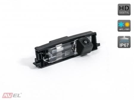 CCD HD штатная камера заднего вида AVS327CPR (#098) для автомобилей TOYOTA