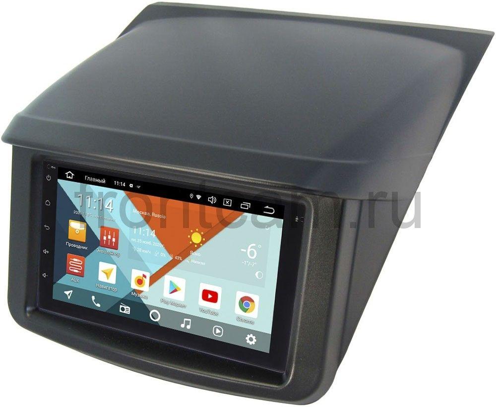 Магнитола в штатное место 2 din Mitsubishi Pajero Sport II, L200 IV 2006-2015 Wide Media MT7001PK-2/16-RP-MMTR-187 на Android 9.1 (DSP 3G-SIM) (+ Камера заднего вида в подарок!)