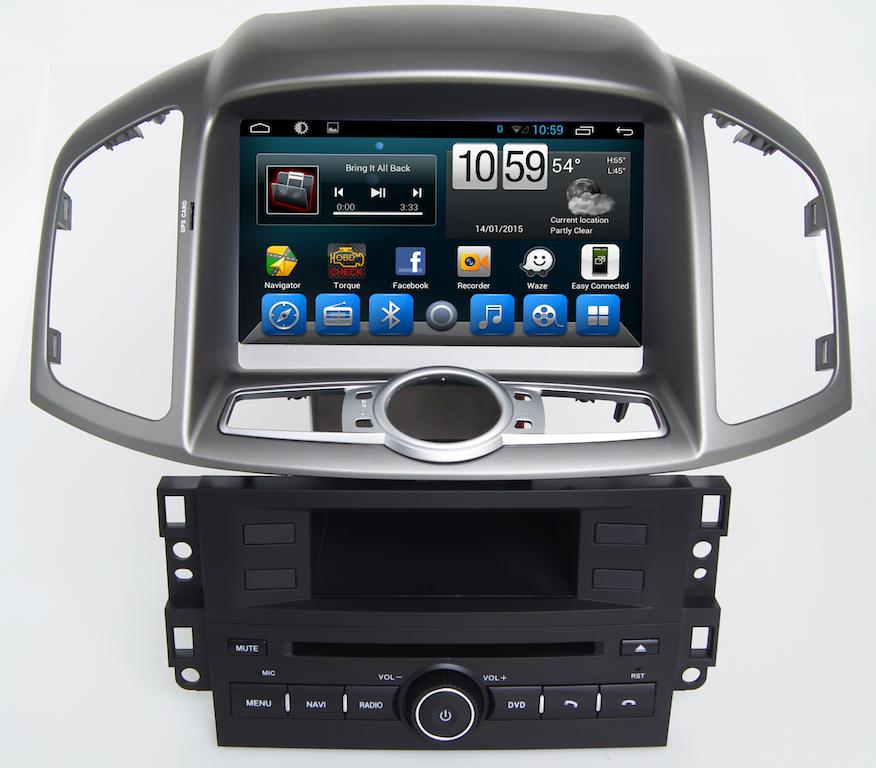 Штатная магнитола для CHEVROLET Captiva 2011-2015 CARMEDIA KR-8030-T8 на Android 7.1 штатная магнитола для toyota highlander 2014 u50 carmedia sp 12105 t8 на android 6 0