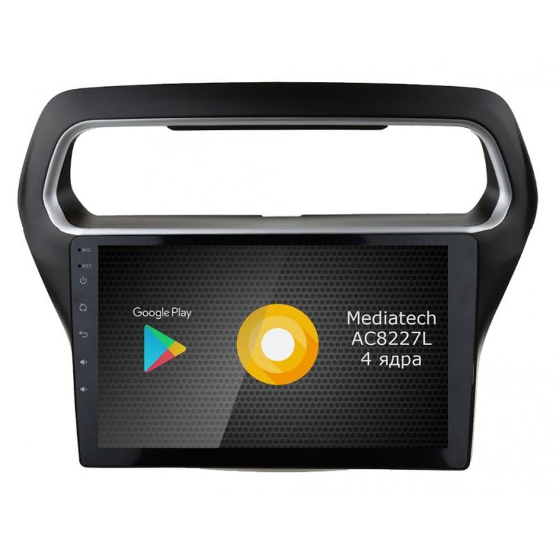 Штатная магнитола Roximo S10 RS-1714 для Ford Escort (2015-2017) (Android 8.1) (+ Камера заднего вида в подарок!)
