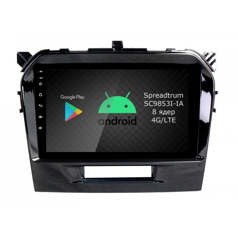 Штатная магнитола Roximo RI-3504 для Suzuki Vitara 2 (Android 9.0) (+ Камера заднего вида в подарок!)
