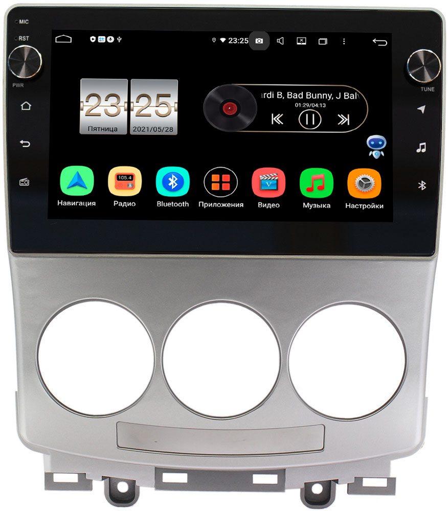 Штатная магнитола Mazda 5 I (CR), Premacy II (CR) 2005-2010 LeTrun BPX409-9147 на Android 10 (4/32, DSP, IPS, с голосовым ассистентом, с крутилками) (+ Камера заднего вида в подарок!)