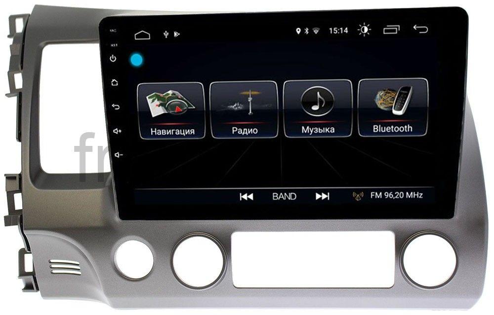 Штатная магнитола LeTrun 2295 для Honda Civic 8 (VIII) 4D 2005-2011 на Android 8.0.1 MTK-L 1Gb (+ Камера заднего вида в подарок!)