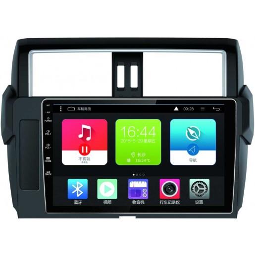 (+ камера заднего вида)CARMEDIA<br>CARMEDIA TP-TY008 Головное устройство на Android 7.1 для Toyota Land Cruiser Prado 150 2013-2017 (цвет: черный). Android 7.1, AW T3 4x1,6 Ghz, 2Gb Ram, 32 Gb ROM, IPS LCD, DSP, NXP 6686 FM, TDA 7850, BC6 Bluetooth,  external microphone+Glonassamp;gps